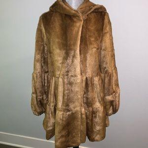 GORGEOUS faux fur coat